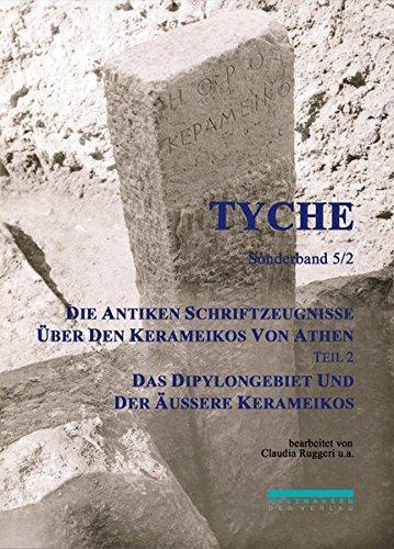 Die Antiken Schriftzeugnisse über den Kerameikos von Athen: Claudia Ruggeri
