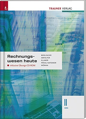 9783854991410: Rechnungswesen heute II HAK, m. Übungs-CD-ROM
