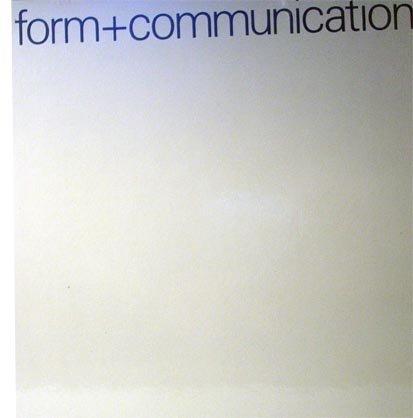 form + communication. Wege zur Visualisierung. Way: Walter J. Diethelm