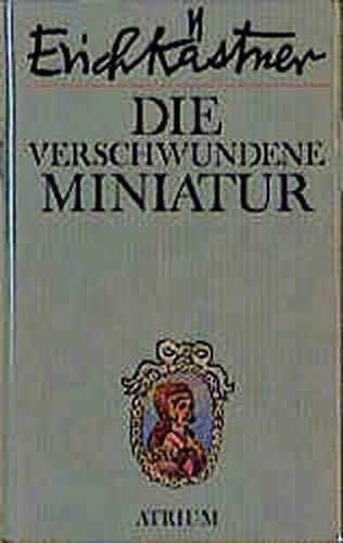 9783855359103: Die verschwundene Miniatur