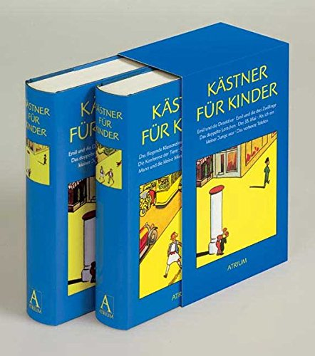 Kästner für Kinder. (Emil; Emil u.d.Detektive; Doppelte Lottchen; 35. Mai; Kleiner Junge;...