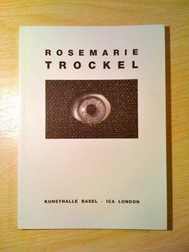 9783855620135: Rosemarie Trockel