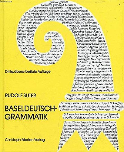 9783856160487: Baseldeutsch - Grammatik