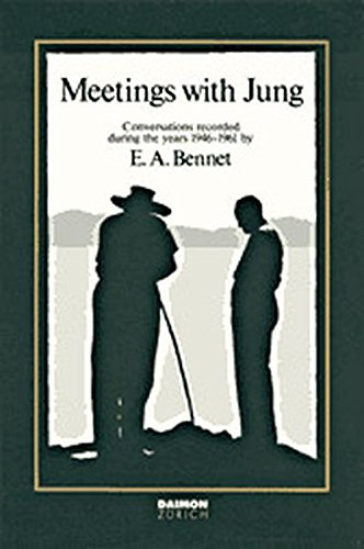 9783856305017: Meetings with Jung: Conversations Recorded During the Years, 1946-1961