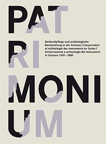 Patrimonium: Bern Bundesamt für Kultur