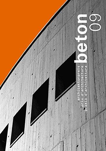 9783856762612: beton 09: architekturpreis beton / prix d'architecture b�ton / premio d'architettura beton