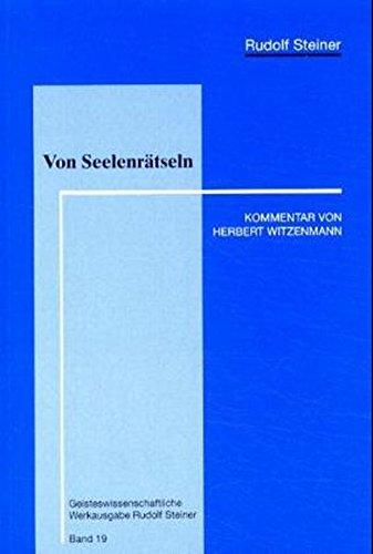 9783857042331: Steiner, R: Von Seelenrätseln
