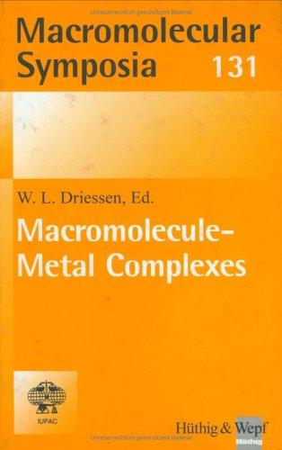 Driessen Macromolecular Metal Complex: HARTWIG