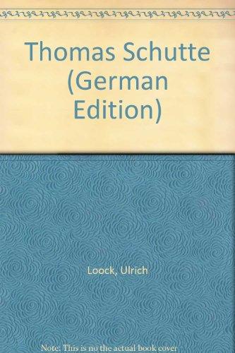 9783857800641: Thomas Schütte: [Ausstellung] Kunsthalle Bern, Musée d'art moderne de la ville de Paris, Stedelijk Van Abbemuseum, Eindhoven (PARIS MUSEES) (German Edition)