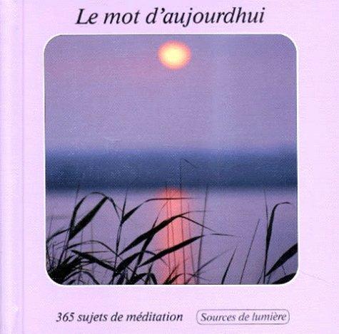 9783857886942 - Collectif: Le mot d'aujourd'hui - Livre