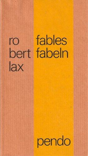 9783858420749: Fables - Fabeln. Engl.-Dt