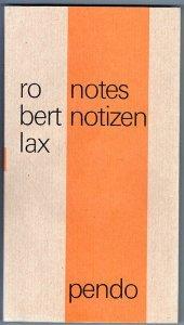 9783858422958: Notes / Notizen