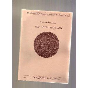 Ex fontibus hauriamus. Ausgewählte Beiträge zur Kulturgeschichte.: Schwarz, Dietrich W.