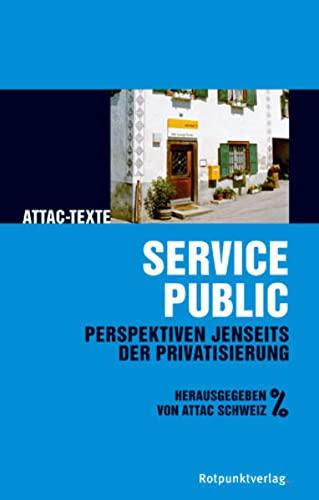 9783858693020: Service public