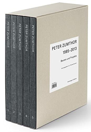 9783858813046: Peter Zumthor - German Edition 5 Vols.