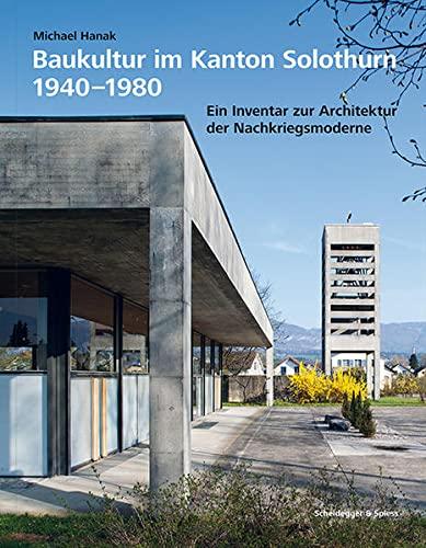 9783858813947: Baukultur Im Kanton Solothurn /Allemand