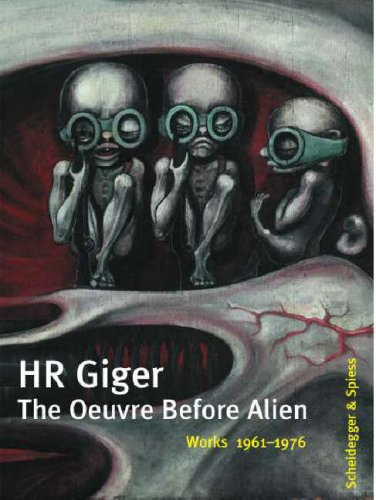 9783858817082: HR Giger - The Oeuvre Before Alien: Works 1961-1976