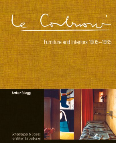 9783858817280: Le Corbusier Furniture and Interiors 1905-1965 /Anglais