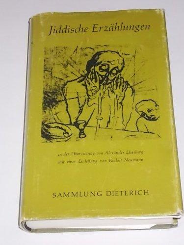 Jiddische Erzählungen: Eliasberg, Alexander