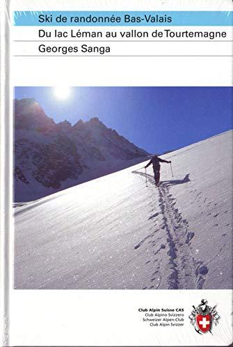9783859022676: Ski de randonnée Bas-Valais : Du lac Léman au vallon de Tourtemagne