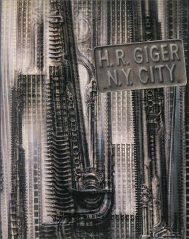 H.R. Giger, N.Y. City (German Edition) (3859146106) by Giger, H. R