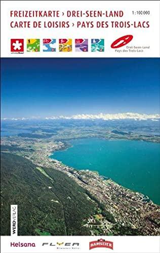9783859326613: Drei-Seen-Land / Carte de Loisirs Pays des Trois-Lacs Freizeitkarte 1 : 100 000