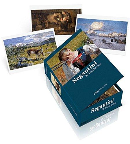 9783859327825: Postkartenbox Giovanni Segantini: 50 Postkarten