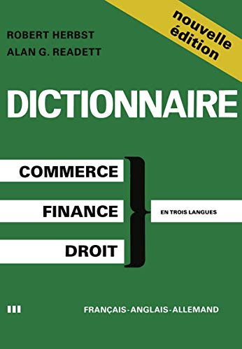 Dictionary of Commercial, Financial and Legal Terms: HERBST