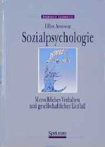 9783860251041: Sozialpsychologie (German Edition)