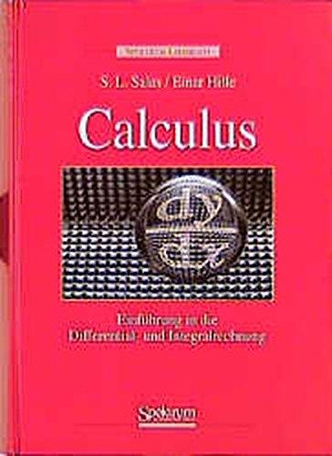 9783860251300: Calculus: Einführung in die Differential- und Integralrechnung (German Edition)