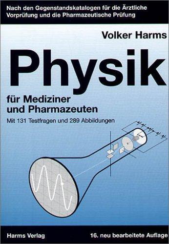9783860261118: Physik: Für Mediziner und Pharmazeuten