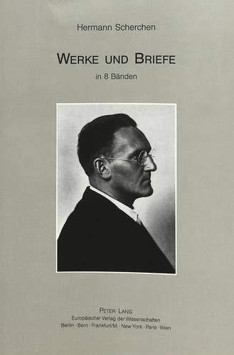 Hermann Scherchen: Werke Und Briefe in 8 Baenden. Schriften 1, Bd. 1. Herausgegeben Von Joachim ...