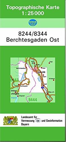 9783860381267: Berchtesgaden Ost 1 : 25 000