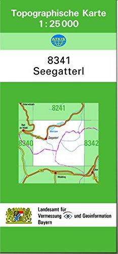 TK25 8341 Seegatterl: Topographische Karte 1:25000: Landesamt f�r Digitalisierung, Breitband und ...