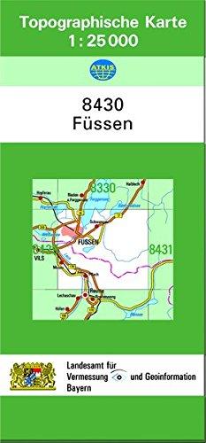 9783860382943: Füssen 1 : 25 000