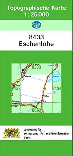 Eschenlohe 1 : 25 000