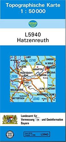 Hatzenreuth 1 : 50 000: Topographische Karte