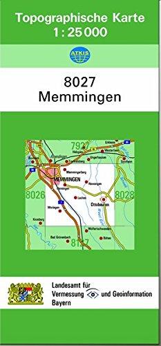 9783860385142: TK25 8027 Memmingen