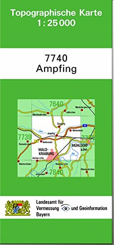 Ampfing 1 : 25 000