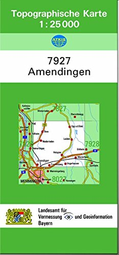 9783860385890: TK25 7927 Amendingen