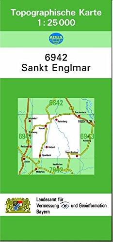 TK25 6942 Sankt Englmar: Topographische Karte 1:25000