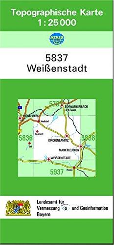 Weißenstadt 1 : 25 000