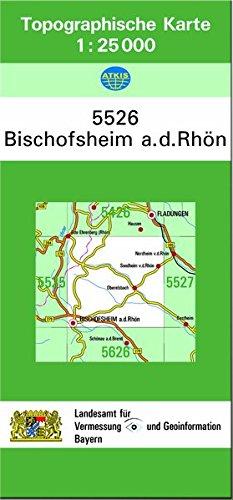 9783860387955: Bischofsheim a.d. Rhön 1 : 25 000