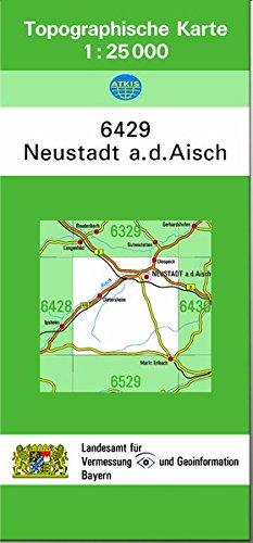 9783860388761: TK25 6429 Neustadt a.d.Aisch: Topographische Karte 1:25000