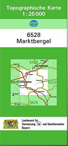 9783860388822: TK25 6528 Marktbergel