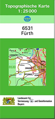 TK25 6531 Fürth: Topographische Karte 1:25000