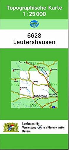 Leutershausen 1 : 25 000