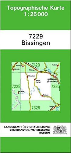 TK25 7229 Bissingen