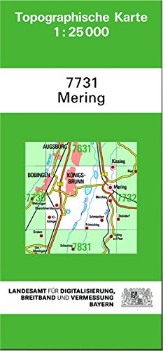 Mering 1 : 25 000