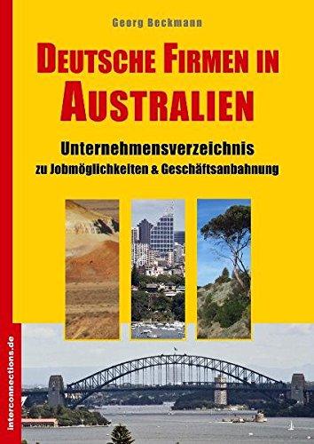 9783860401637: Deutsche Firmen in Australien